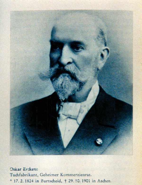 Kommerzienrat Oskar Erckens