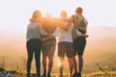 Jugendgruppe Nova-Base in der Sonne